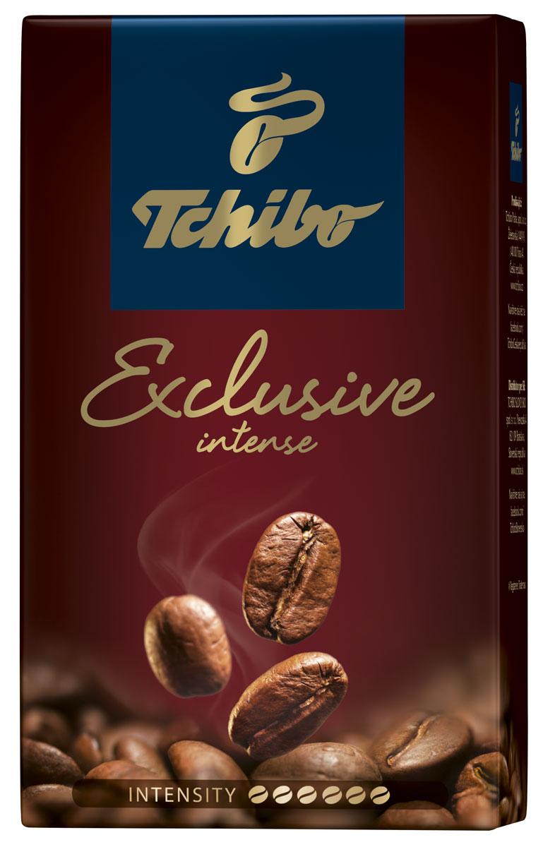 Tchibo Exclusive Intense кофе молотый, 250 г470224Побалуйте себя и своих близких изысканным кофе Tchibo Exclusive Intense. Его богатый аромат и насыщенный вкус доставят вам непревзойдённое удовольствие. Для создания этого исключительного купажа эксперты Tchibo отбирают только лучшие зерна Арабики и дополняют их зернами насыщенной Робусты.