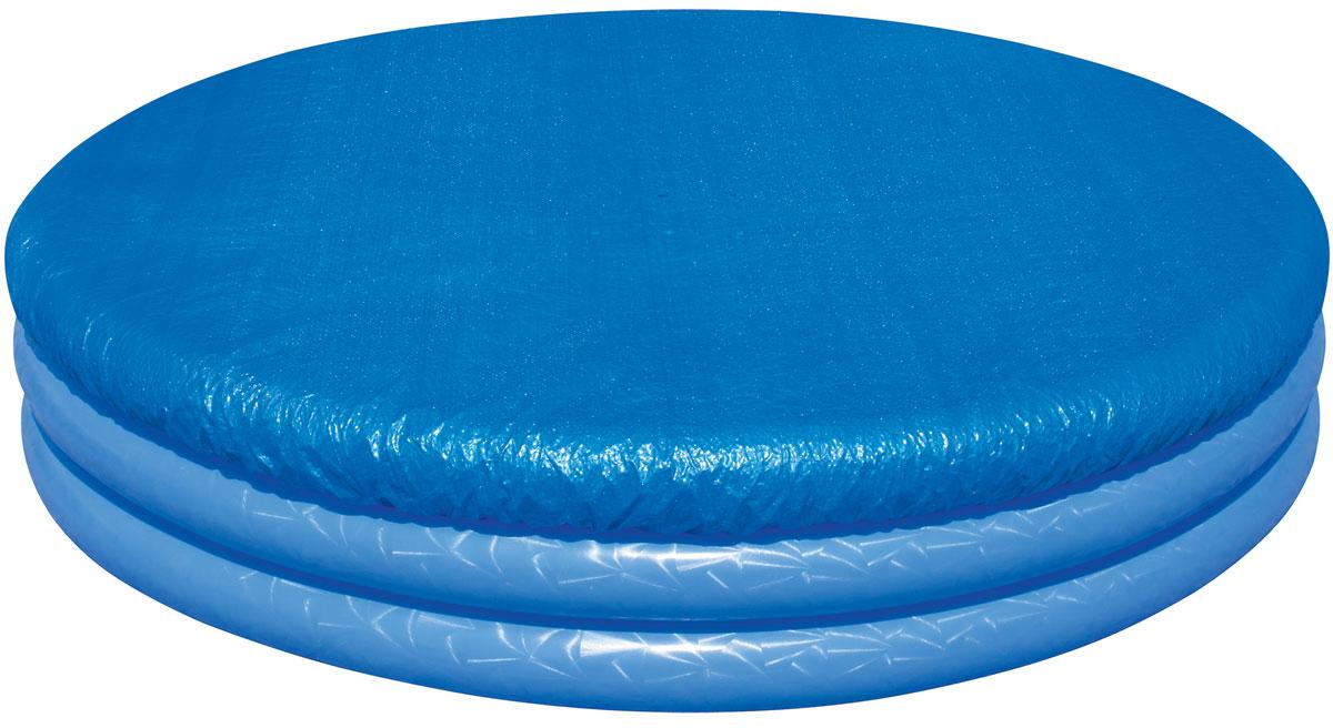 Bestway Тент для детских бассейнов, диаметр 211 см. 58302141-442Тент Bestway подходит для бассейнов диаметром от 150 до 170 см. Выполнен из высококачественного полиэтилена. В комплекте шнуры для крепления крышки. Сливные отверстия предотвращают скопление воды.Диаметр тента: 211 см.Диаметр бассейна: 150-170 см.