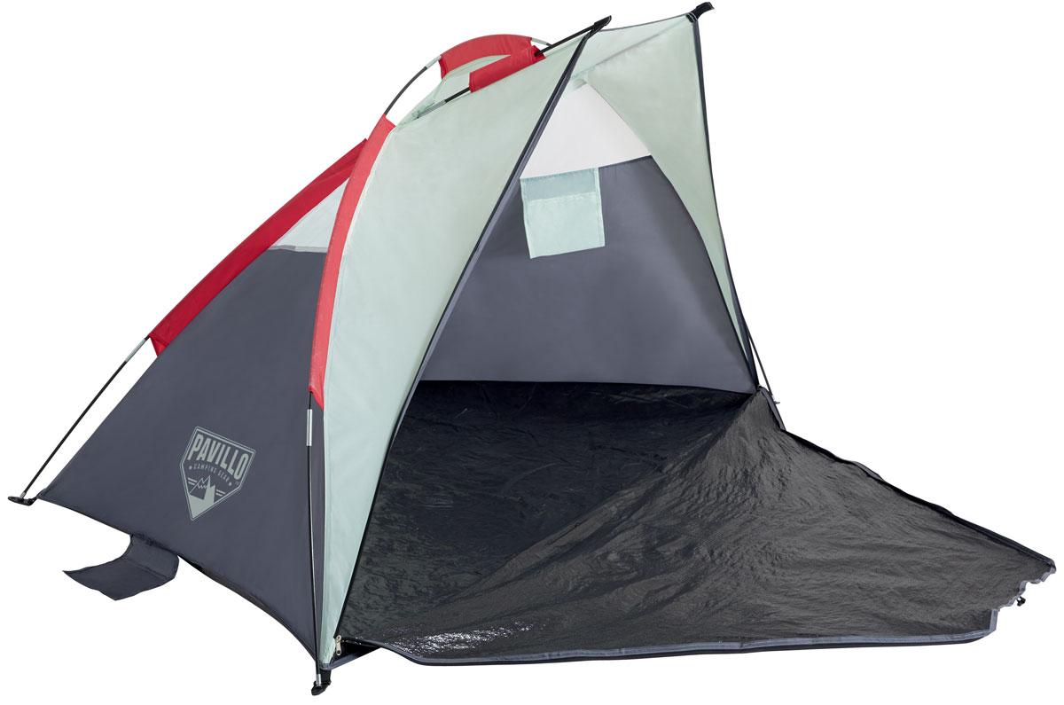 Bestway Палатка пляжная Ramble, 200 х 100 х 100 см. 68001891980.30Внутри палатки есть специальный кармашек, чтобы сложить мелкие вещи. Изготовлено из полиэстера и полимерных материалов.