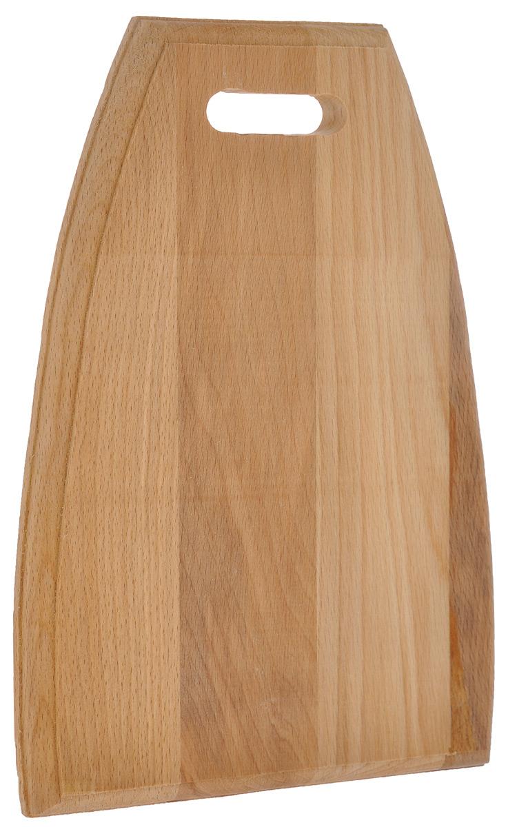 Доска разделочная Mayer & Boch Трапеция, 24,5 см х 33 см10-1Всем известно, что на кухне без разделочной доски не обойтись! Ведь во время приготовления пищи мы то и дело что-то режем. Разделочная доска Mayer & Boch Трапеция идеальна для приготовления завтрака. Доска изготовлена из бука - жесткой, легкой и очень прочной древесины. Не рекомендуется мыть в посудомоечной машине.