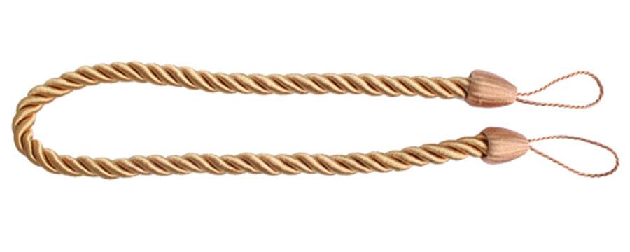 Подхват для штор Goodliving Шнур , цвет: карамельный (46), 2 шт7711742_46 карамельныйПодхват для штор Goodliving Шнур выполнен в виде витого шнура, на обоих концах которого имеются петли для крепления подхвата на крючок. Подхват - это основной вид фурнитуры в декоре штор, сочетающий в себе не только декоративную функцию, но и практическую - регулировать поток света. Подхваты способны украсить любую комнату. Длина подхвата: 52 см. Диаметр подхвата: 1,5 см.