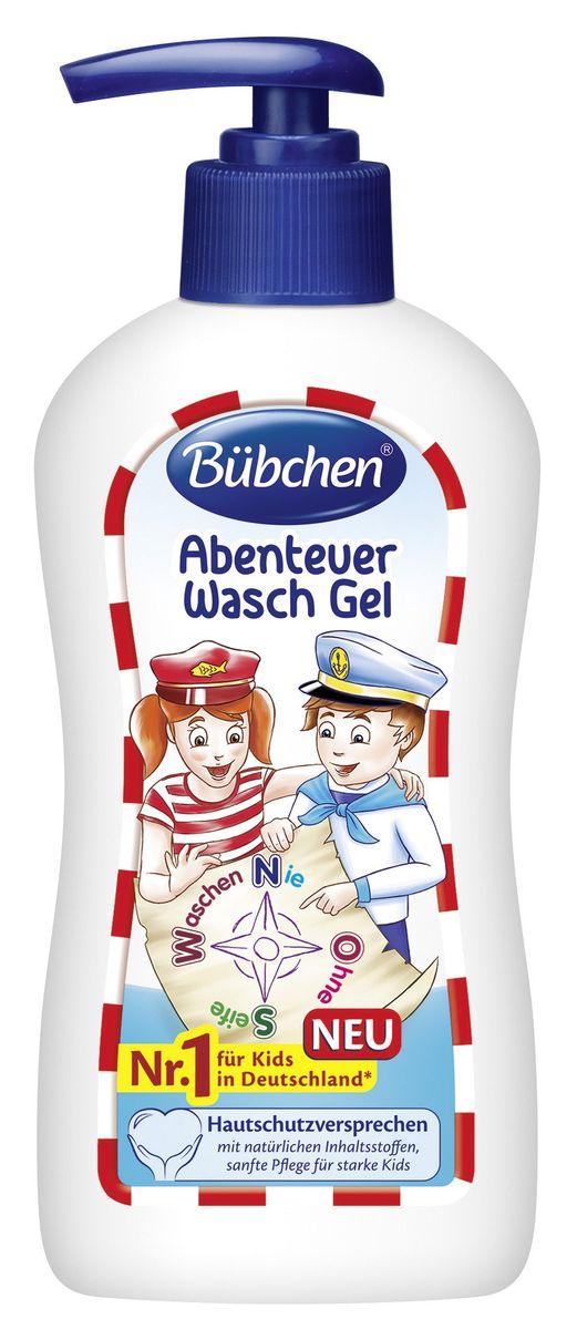 Bubchen Гель-мыло детское Искатели приключений 200 мл 12270658