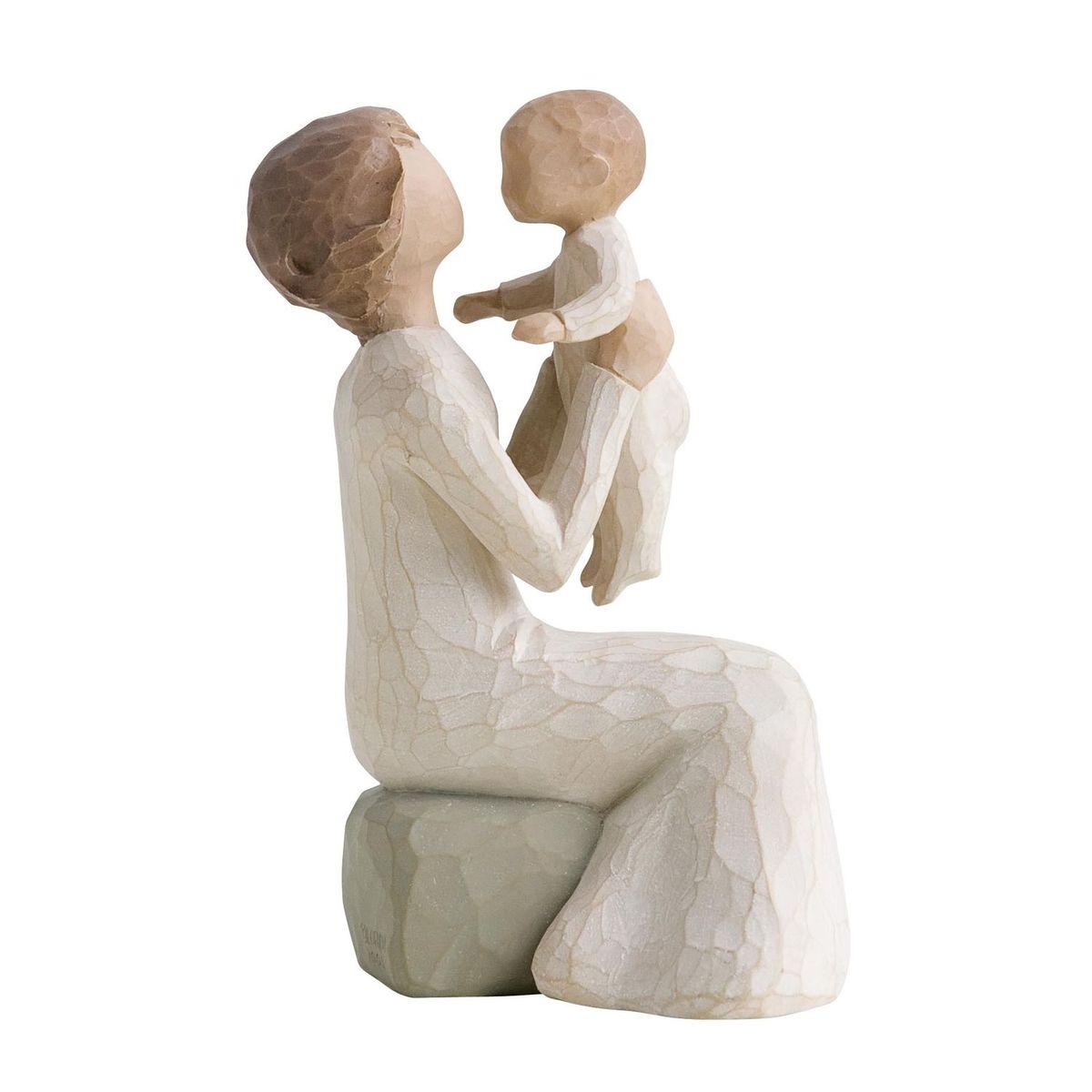 Фигурка Willow Tree Бабушка, 14,5 см26072Эти прекрасные статуэтки созданы канадским скульптором Сьюзан Лорди. Каждая фигурка – это настоящее произведение искусства, образная скульптура в миниатюре, изображающая эмоции и чувства, которые помогают нам чувствовать себя ближе к другим, верить в мечту, выражать любовь. Каждая фигурка помещена в красивую упаковку. Купить такой оригинальный подарок, значит не только украсить интерьер помещения или жилой комнаты, но выразить свое глубокое отношение к любимому человеку. Этот прекрасный сувенир будет лучшим подарком на день ангела, именины, день рождения, юбилей. Материал: Искусственный камень (49% карбонат кальция мелкозернистой разновидности, 51% искусственный камень)