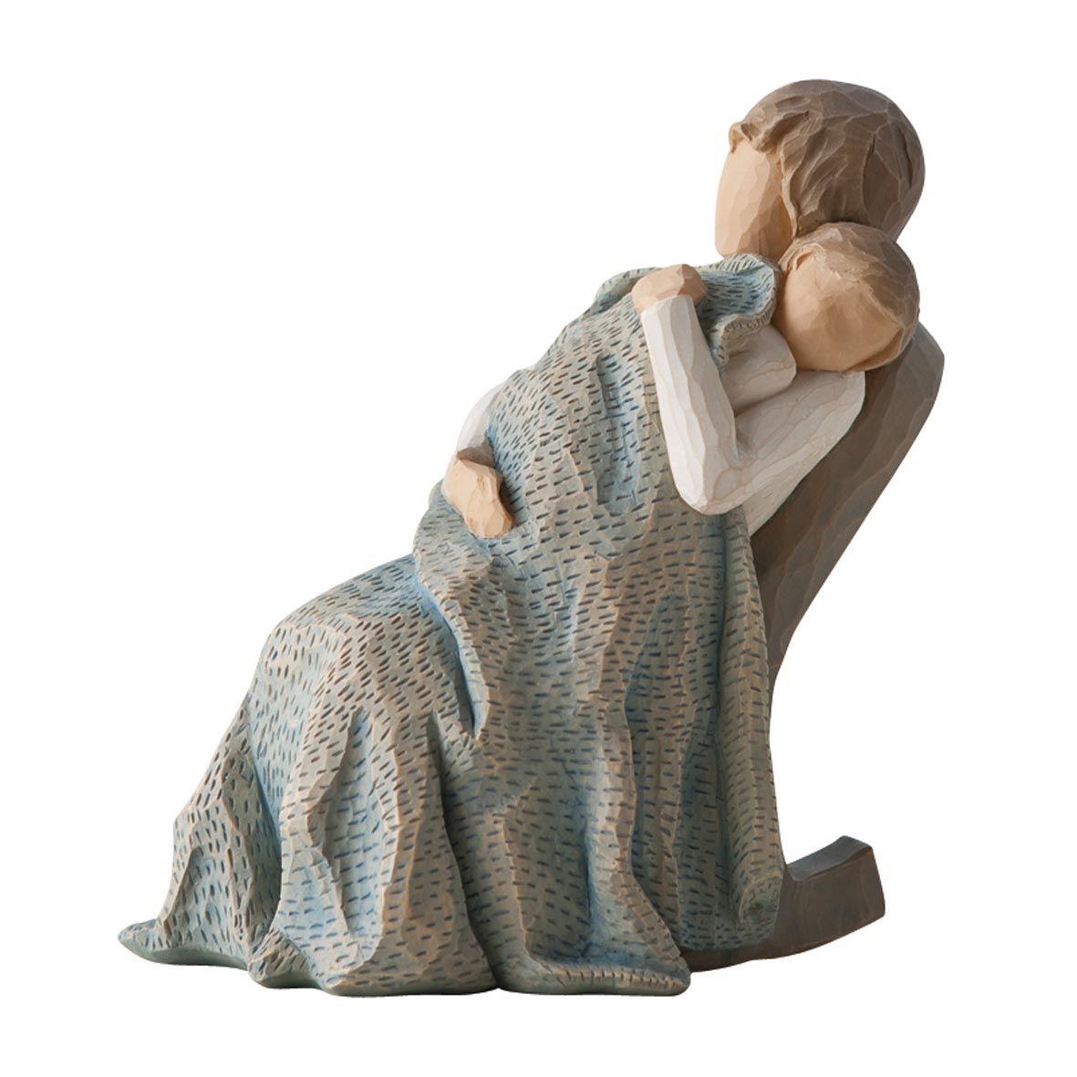 Фигурка Willow Tree Одеяло, 14 см26250Эти прекрасные статуэтки созданы канадским скульптором Сьюзан Лорди. Каждая фигурка – это настоящее произведение искусства, образная скульптура в миниатюре, изображающая эмоции и чувства, которые помогают нам чувствовать себя ближе к другим, верить в мечту, выражать любовь. Каждая фигурка помещена в красивую упаковку. Купить такой оригинальный подарок, значит не только украсить интерьер помещения или жилой комнаты, но выразить свое глубокое отношение к любимому человеку. Этот прекрасный сувенир будет лучшим подарком на день ангела, именины, день рождения, юбилей. Материал: Искусственный камень (49% карбонат кальция мелкозернистой разновидности, 51% искусственный камень)