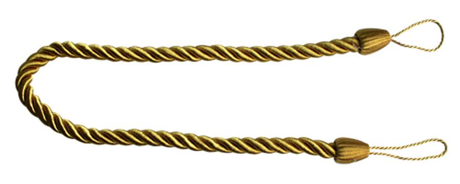Подхват для штор Goodliving Шнур, цвет: золотистый (44), 2 шт790009Подхват для штор Goodliving Шнур выполнен в виде витого шнура, на обоих концах которого имеются петли для крепления подхвата на крючок.Подхват - это основной вид фурнитуры в декоре штор, сочетающий в себе не только декоративную функцию, но и практическую - регулировать поток света. Подхваты способны украсить любую комнату.Длина подхвата: 52 см. Диаметр подхвата: 1,5 см.