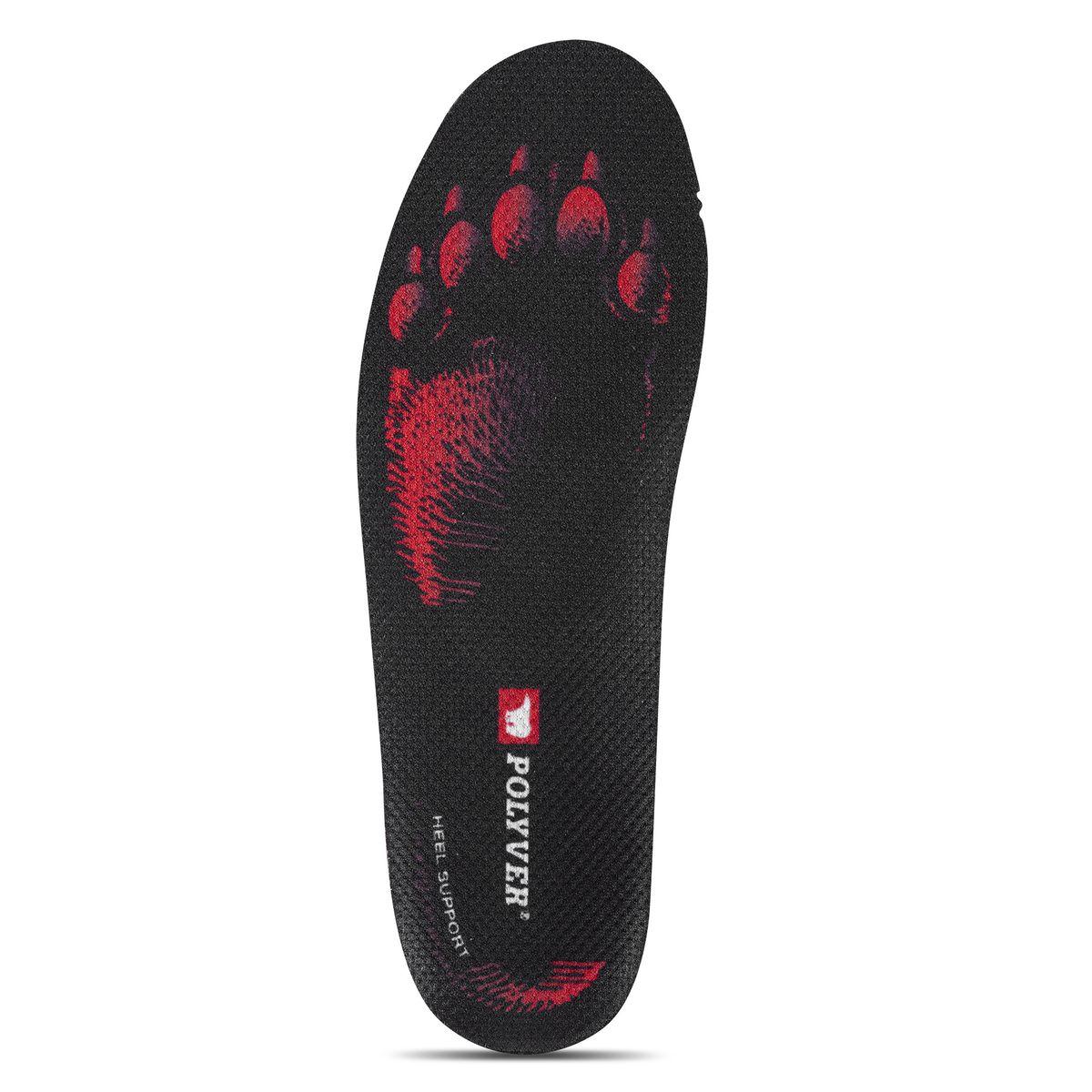 Стельки мужские POLYVER PREMIUM, цвет: красно-черный. Размер: 42-4326258873Термоизоляционные стельки Polyver отлично защищают ноги от холода при этом отводя лишнюю влагу. Стельки состоят из трех слоев: впитывающий влагу, амортизационный, термоизоляционный. Комфорт:- анатомическая форма с поддержкой пятки- стабилизация стопы для уменьшения боли с суставах- повышает устойчивость и уменьшает усталость - производятся только в Швеции