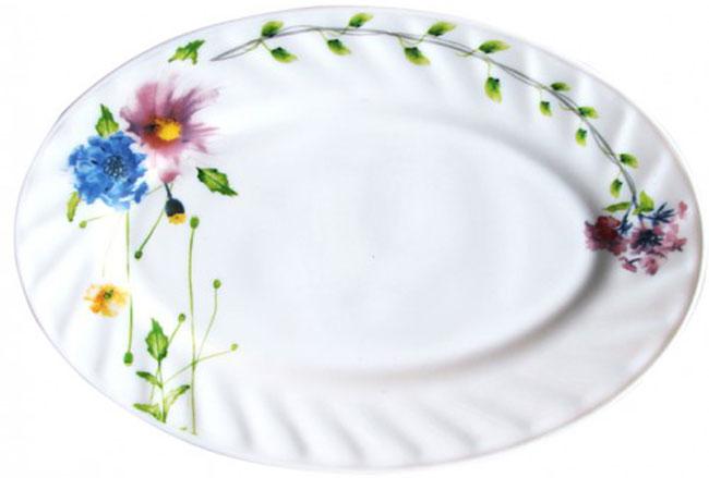Блюдо Chinbull Флоренция, 25 х 17 смHYP-100/6646Блюдо Chinbull Флоренция, изготовленное из стеклокерамики, сочетает в себе изысканный дизайн с максимальной функциональностью. Красочность оформления придется по вкусу тем, кто предпочитает утонченность и изящность. Оригинальное блюдо украсит сервировку вашего стола и подчеркнет прекрасный вкус хозяйки, а также станет отличным подарком. Размер блюда (по верхнему краю): 25 см х 17 см.