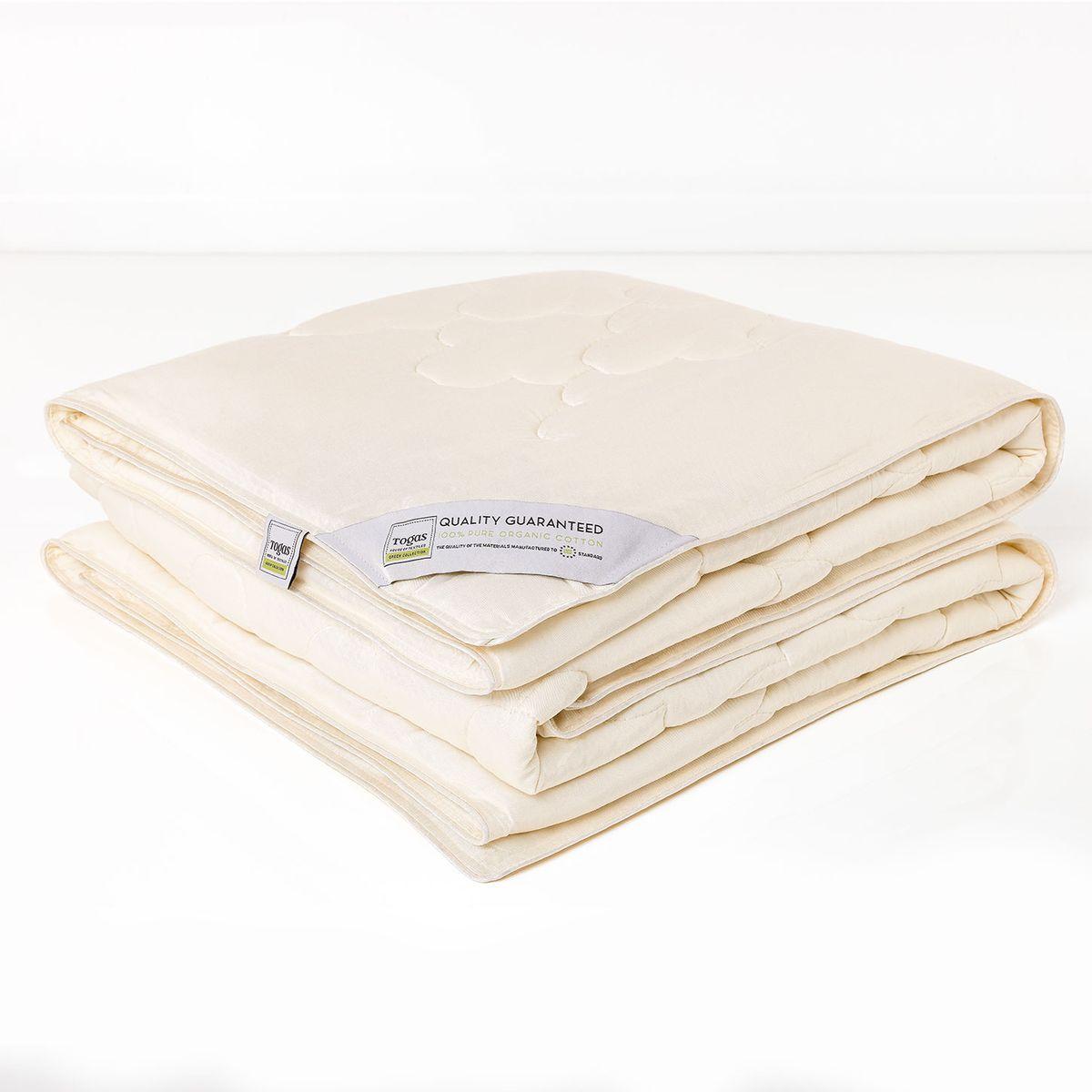 Одеяло Togas, наполнитель: хлопок, цвет: экрю, 200 х 210 см10503Одеяло Togas создаст комфортные условия для сна благодаря уникальным природным свойствам бамбука. Бамбуковое волокно мягкое и приятное на ощупь, по виду напоминает шелк и кашемир. В качестве наполнителя использован натуральный хлопок - высокопрочный, самый популярный в мире натуральный материал, известный своими впитывающими и терморегулирующими свойствами. Это одеяло поистине совершенно, ведь в нем объединились новейшие технологии, и безграничная сила природы…Одеяло из бамбукового волокна очень практично - за ним несложно ухаживать в домашних условиях.