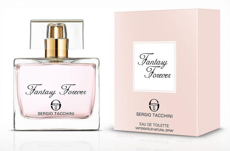 SERGIO TACCHINI FANTASY FOREVER WOMAN туалетная вода 30МЛ13124Восточные, цветочные. Жасмин, кедр, сандаловое дерево, ваниль, дубовый мох, мускус, бергамот, роза, черника