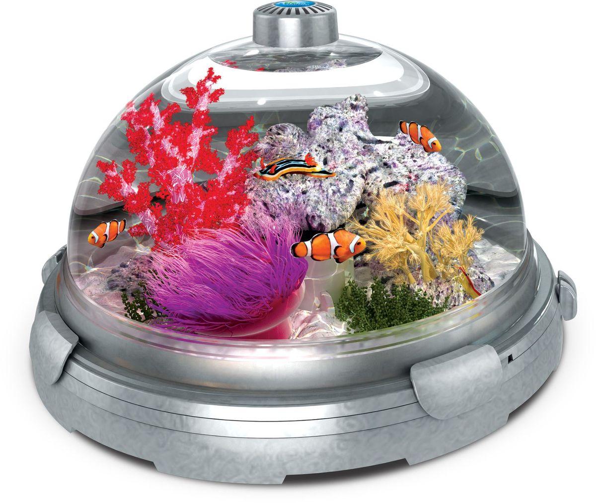 Комплект-аквариум BioBubble Aquarium Bundle, цвет: серебристый + подарок-декор Будда0120710BioBubble Aquarium Bundle – это превосходная среда обитания, в которой можно создать настоящее подводное царство
