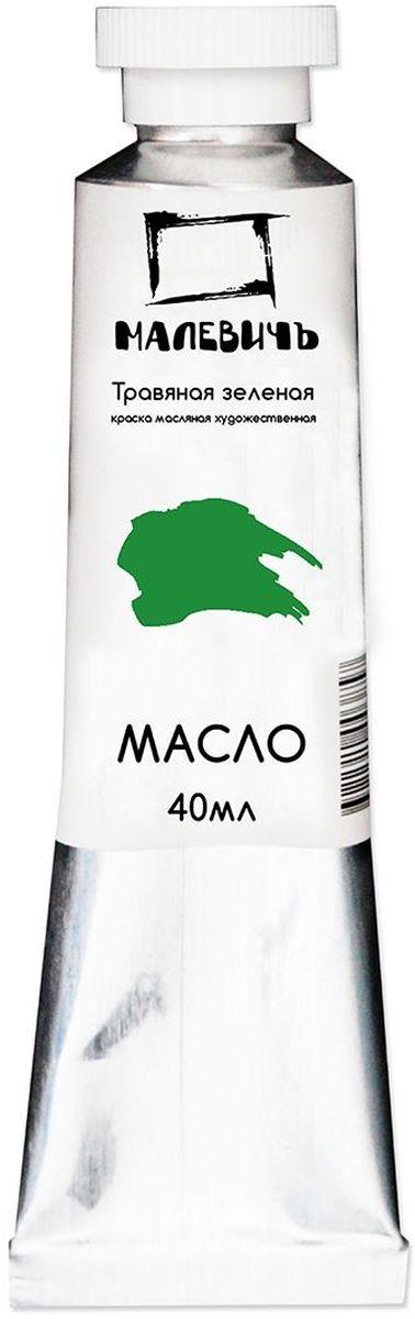 Малевичъ Краска масляная Травяная зеленая 40 мл540716Профессиональные масляные краски Малевичъ изготавливаются из высококачественных, светостойких пигментов и натурального, очищенного льняного масла. Содержание пигмента и масла сбалансировано таким образом, чтобы получить идеальную мягкую консистенцию, позволяющую писать даже неразбавленными красками. Тончайший перетир пигмента дает возможность идеально смешивать цвета красок, а также работать методом лессировок, добиваясь акварельного эффекта. Краски отлично ложатся на холст и имеют яркие, насыщенные цвета, которые удовлетворят как сторонников классической живописи, так и любителей авангарда. Картина, написанная масляными красками Малевичъ не изменит своего первоначального тона более 100 лет, ведь эти краски имеют оценку по шкале светостойкости не менее 7 баллов из 8, а белила специально изготавливаются на основе саффлорового масла, исключающего их пожелтение со временем. В производстве используются только экологически чистые и безопасные материалы. Масляные краски Малевичъ:...