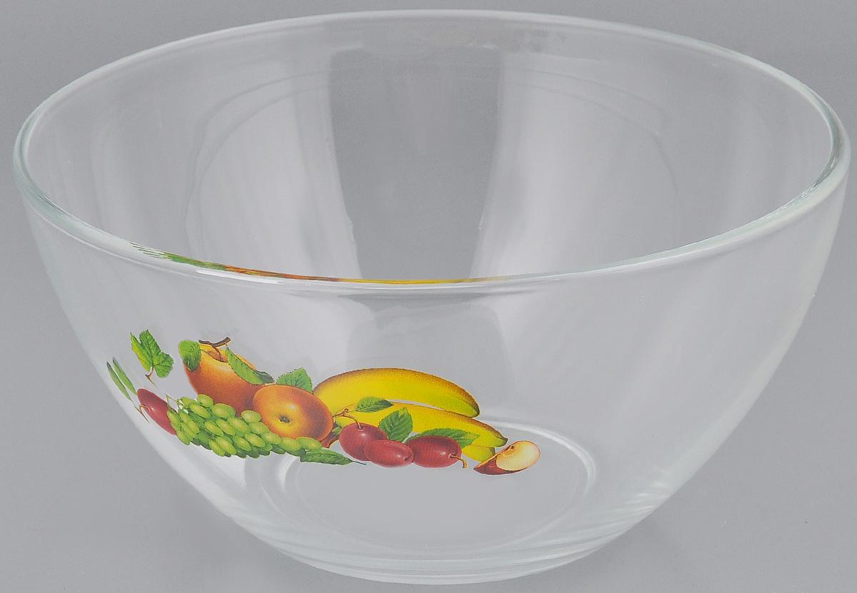Салатник OSZ Фруктовая феерия, диаметр 16 см115510Салатник OSZ Фруктовая феерия изготовлен из бесцветного натрий-кальций-силикатного стекла и украшен ярким рисунком. Изделие идеально подходит для сервировки стола.Такой салатник не только украсит ваш кухонный стол и подчеркнет прекрасный вкус хозяйки, но и станет отличным подарком. Диаметр салатника (по верхнему краю): 16 см. Диаметр основания: 7 см. Высота салатника: 8 см.