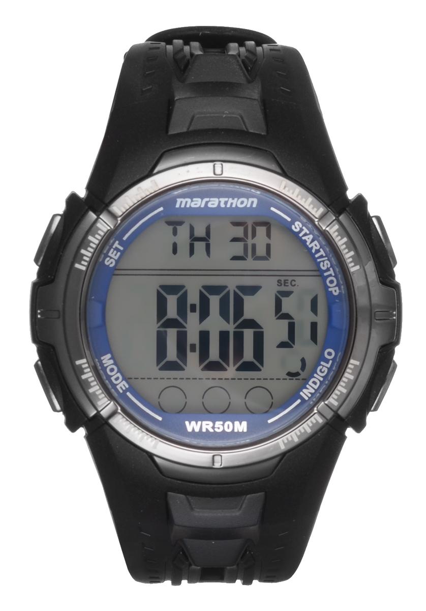 Часы мужские наручные Timex, цвет: черный. T5K359BP-001 BKСтильные мужские часы Timex выполнены из пластика, нержавеющей стали, силикона и минерального стекла. Изделие оформлено символикой бренда. В часах предусмотрен цифровой отсчет времени.Функция секундомера позволит замерять прошедшее время, предусмотрен будильник, а также таймер и хронограф, календарь. Степень влагозащиты 5 atm. Изделие дополнено ремешком из силикона, который оснащен практичной пряжкой.Часы поставляются в фирменной упаковке.Многофункциональные часы Timex подчеркнут мужской характер и отменное чувство стиля у их обладателя.