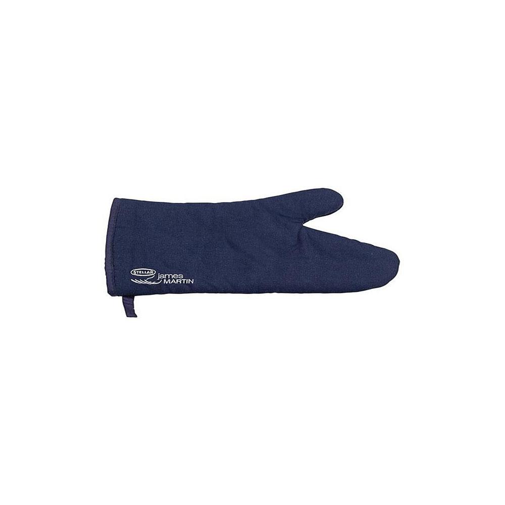Варежка-прихватка Horwood Stellar, цвет: темно-синий, 30 см х 13,5 смVT-1520(SR)Варежка-прихватка Horwood Stellar изготовлена из хлопка. Изделие оснащено текстильной петелькой для подвешивания на крючок. С помощью такой прихватки ваши руки будут защищены от ожогов, когда вы будете ставить в печь или доставать из нее выпечку.