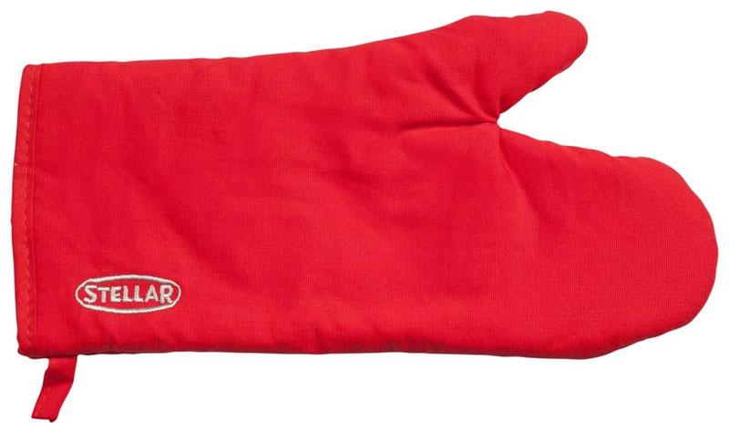 Варежка-прихватка Horwood Stellar, цвет: красный, 30 х 13,5 смSTE02RВарежка-прихватка Horwood Stellar изготовлена из хлопка. Изделие оснащено текстильной петелькой для подвешивания на крючок. Прихватка-перчатка прострочена, что позволяет не сбиваться наполнителю. С помощью такой прихватки ваши руки будут защищены от ожогов, когда вы будете ставить в печь или доставать из нее выпечку.