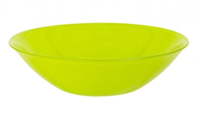 Салатник Luminarc Colorama Green, диаметр 16,5 смJ7765Салатник Luminarc Colorama Green выполнен из ударопрочного стекла. Яркий дизайн придется по вкусу и ценителям классики, и тем, кто предпочитает утонченность и изысканность. Салатник Luminarc Colorama Green идеально подойдет для сервировки стола и станет отличным подарком к любому празднику. Диаметр (по верхнему краю): 16,5 см.