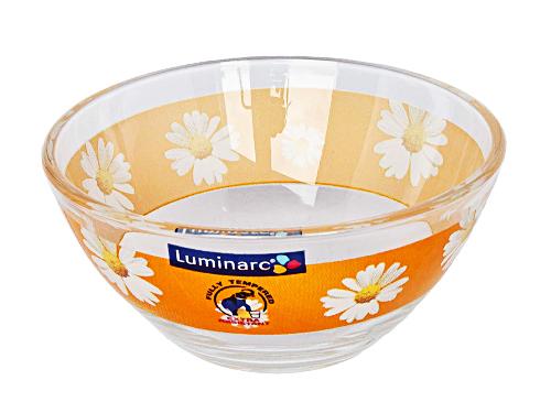 Салатник Luminarc Paquerette, диаметр 10 смG5924Салатник Paquerette от Luminarc из качественного ударопрочного стекла пригодится на каждой кухне. В нем можно подавать холодные закуски, легкие салаты, снеки к чаю. Диаметр салатника - 10 сантиметров. Можно использовать в СВЧ-печи и посудомоечной машине.