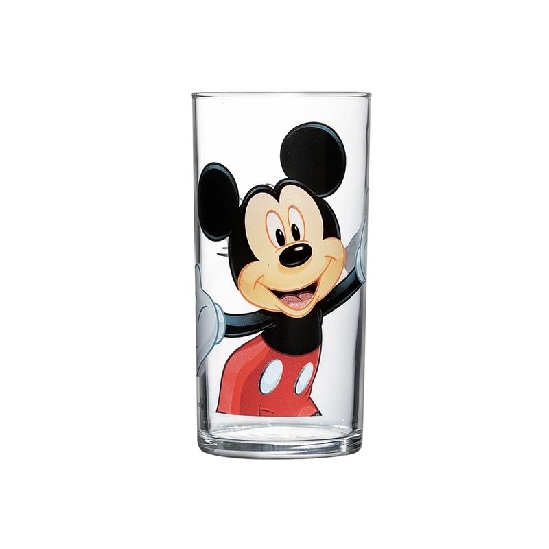 Стакан Luminarc Mickey Colors, 270 млG9174Стакан Luminarc Mickey Colors, изготовлен из высококачественного стекла. Такой стакан прекрасно подойдет для горячих и холодных напитков. Он дополнит коллекцию вашей кухонной посуды и будет служить долгие годы. Можно мыть в посудомоечной машине.