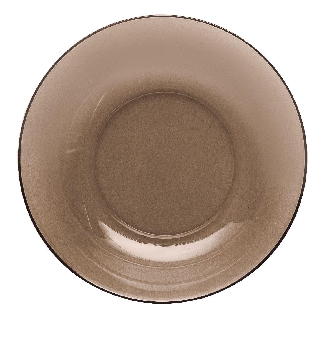 Тарелка глубокая Luminarc Directoire Eclipse, диаметр 20 смH0090Глубокая тарелка Luminarc Directoire Eclipse выполнена из ударопрочного стекла. Она прекрасно впишется в интерьер вашей кухни и станет достойным дополнением к кухонному инвентарю. Тарелка Luminarc Directoire Eclipse подчеркнет прекрасный вкус хозяйки и станет отличным подарком. Можно использовать в микроволновой печи и мыть в посудомоечной машине. Диаметр тарелки: 20 см.