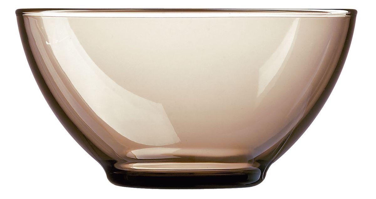 Пиала Luminarc Directoire Eclipse, 500 мл115610Пиала Luminarc Directoire Eclipse, изготовленная из ударопрочного стекла, прекрасно подойдет для подачи салата, супа или мороженого. Благодаря лаконичному дизайну, такая пиала станет бесспорным украшением вашего стола. Она дополнит коллекцию кухонной посуды и будет служить долгие годы.