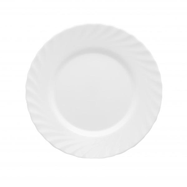 Тарелка Luminarc Trianon, диаметр 24 смH3665Тарелка Luminarc Trianon, изготовленная из высококачественного фарфора, имеет классическую круглую форму. Тарелка Luminarc Trianon идеально подойдет для сервировки стола и станет отличным подарком к любому празднику.