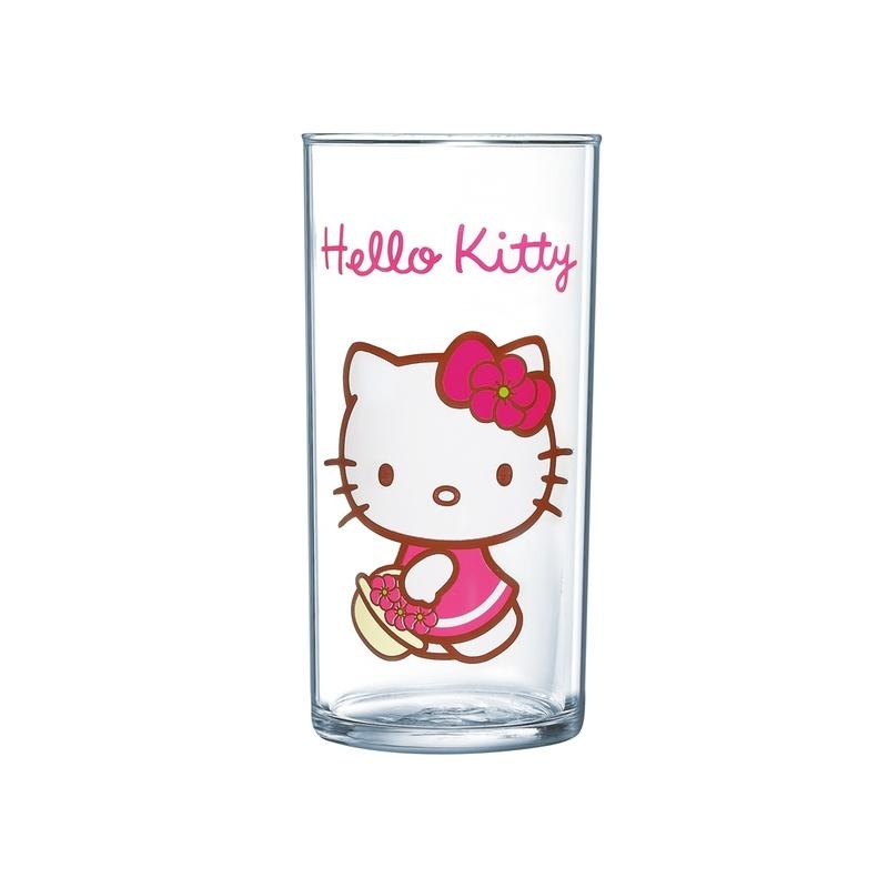 Стакан Luminarc Hello Kitty, 270 млH5481Стакан Luminarc Hello Kitty, изготовлен из высококачественного стекла. Такой стакан прекрасно подойдет для горячих и холодных напитков. Он дополнит коллекцию вашей кухонной посуды и будет служить долгие годы. Можно мыть в посудомоечной машине.