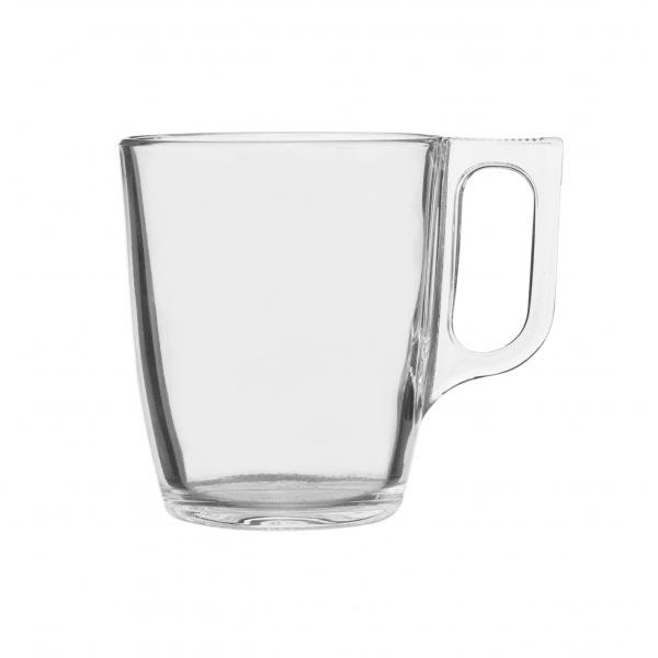 Кружка Luminarc Nuevo, 250 млH5829Кружка Luminarc Nuevo изготовлена из ударопрочного стекла. Такая кружка прекрасно подойдет для горячих и холодных напитков. Она дополнит коллекцию вашей кухонной посуды и будет служить долгие годы. Можно использовать в посудомоечной машине и микроволновой печи. Объем кружки: 250 мл.