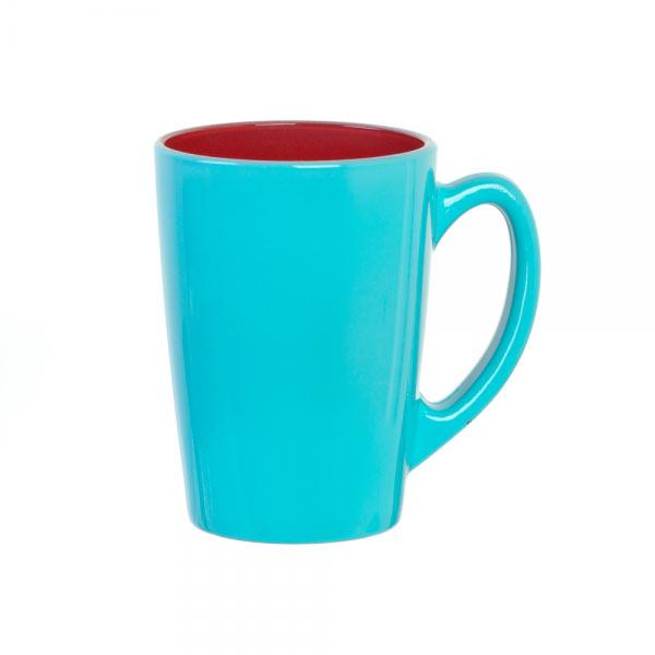 Кружка Luminarc Spring Break, цвет: голубой, малиновый, 320 млH8278Кружка Luminarc Spring Break изготовлена из упрочненного стекла. Такая кружка прекрасно подойдет для горячих и холодных напитков. Она дополнит коллекцию вашей кухонной посуды и будет служить долгие годы. Объем кружки: 320 мл. Диаметр кружки (по верхнему краю): 8 см. Высота кружки: 11 см.