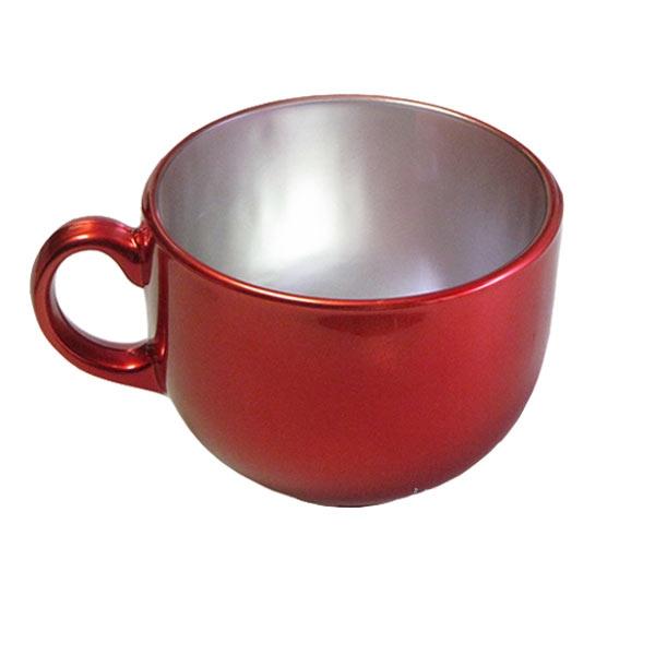 Бульонница Luminarc Flashy Colors, цвет: красный, серебристый, 500 млJ1117Бульонница Luminarc Flashy Colors, изготовлена из высококачественного стекла, оснащена эргономичной ручкой. Изделие дополнит коллекцию кухонной посуды и будет служить долгие годы. Можно мыть в посудомоечной машине и использовать в микроволновой печи. Диаметр (по верхнему краю): 10,5 см. Высота бульонницы: 9 см