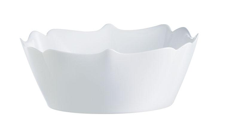Салатник Luminarc Authentic, диаметр 16 смJ1302Салатник Luminarc Authentic оригинальной формы выполнен из высококачественного стекла. Он прекрасно впишется в интерьер вашей кухни и станет достойным дополнением к кухонному инвентарю. Диаметр салатника (по верхнему краю): 16 см.