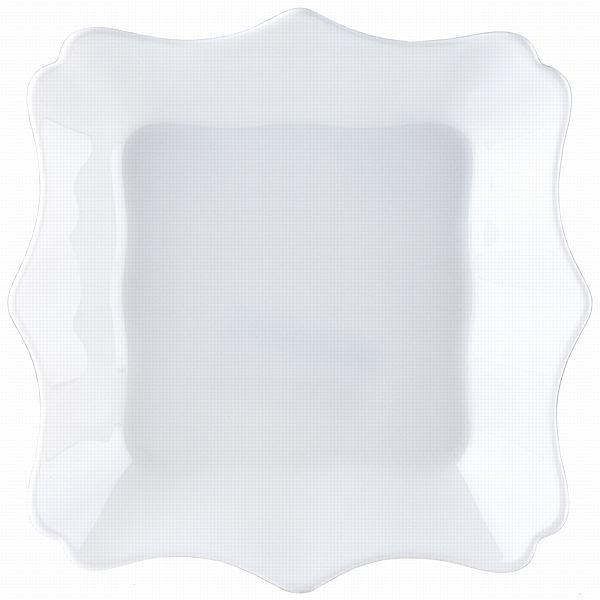 Тарелка глубокая Luminarc Authentic, цвет: белый, 20 х 20 смJ1342Глубокая квадратная тарелка из серии Luminarc Authentic выполнена из ударопрочного стекла, устойчива к резким перепадам температуры. Служит для подачи первых блюд и вмещает 450 мл жидкости (до самого края). Комфортно в тарелку помещаются 3 половника супа, при этом она не будет заполнена до самого края. Подходит для использования в посудомоечной машине и СВЧ. Размер тарелки: 20 х 20 см.