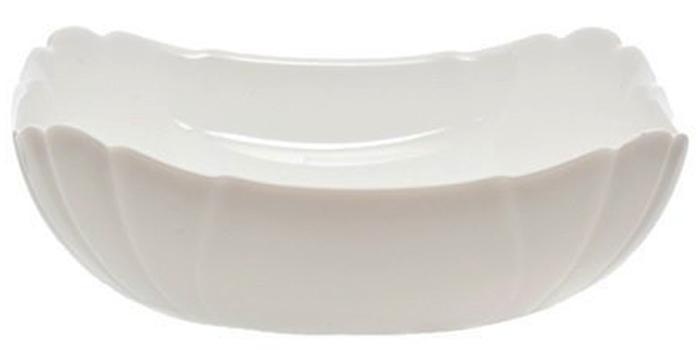 Салатник Luminarc Lotusia, 12 х 12 см115610Салатник Luminarc Lotusia выполнен в современном дизайне и подойдет для использования в любых интерьерах. Салатник, размером 12 х 12 сантиметров можно использовать для подачи холодных закусок, снеков или сладостей на общий стол. Он произведен известной маркой Luminarc из качественного ударопрочного стекла, долговечен, не впитывает запахи и обладает антибактериальными свойствами. Салатник можно мыть в посудомоечной машине и использовать в СВЧ-печи.Высота салатника: 5 см.