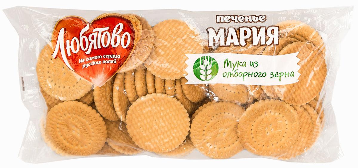 Любятово Печенье Мария , 500 г0120710Традиционное затяжное печенье Любятово Мария послужит прекрасным дополнением к завтраку, а также к чашечке чая в любое время дня.