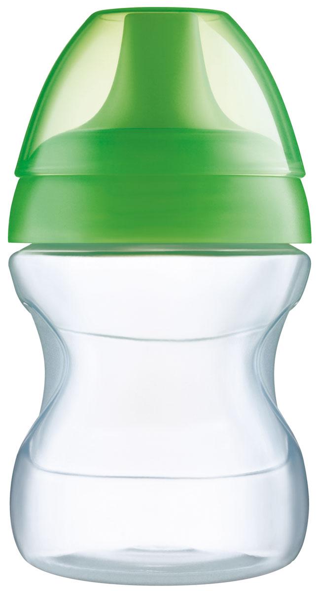 MAM Поильник 190 мл цвет зеленый