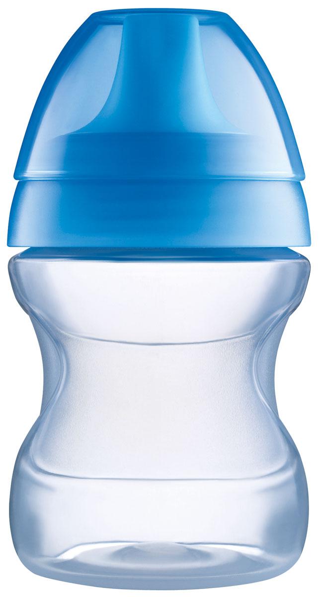 MAM Поильник 190 мл цвет синий