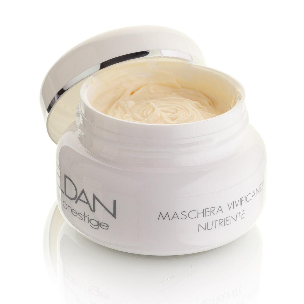 ELDAN cosmetics Оживляющая маска для лица Le Prestige, 100 млFS-00103Прекрасно снимает следы усталости и стресса, одновременно укрепляя, увлажняя и питая кожу лица. Активные масла и бета-каротин в составе маски восстанавливают гидролипидную мантию, стимулируют процесс регенерации клеток, повышая тонус и эластичность кожи, а витамины оказывают антиоксидантное и стимулирующее действие, делая ее упругой и сияющей