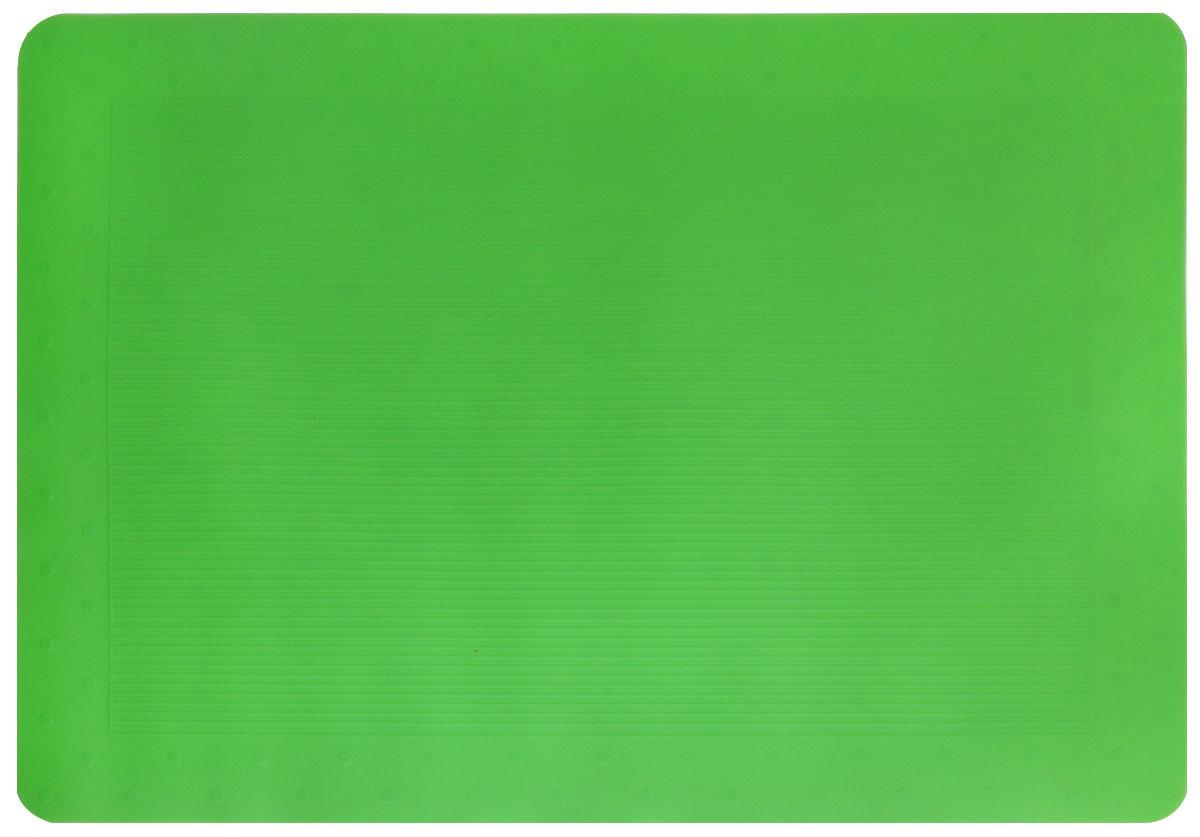 Коврик для миски SafeMade, цвет: зеленый, 48 см х 33 см5016Коврик для миски SafeMade изготовлен из высококачественного пищевого силикона, не токсичен, отличается прочностью и гибкостью. Предназначен для расположения на нем мисок для домашних животных. Благодаря свойствам материала, миски и сам коврик не скользят, и всегда остаются в одном положении. Коврик также может использоваться для приготовления выпечки, на нем удобно раскатывать тесто, оно не прилипает, что облегчает процесс. Можно мыть в посудомоечной машине. Товары Safemade для домашних животных сделаны согласно государственным стандартам и законам, касающимся качества детских товаров. Товары Safemade разрабатываются и производятся безопасными для здоровья. Для изготовления товаров используются нетоксичные натуральные материалы. Материалы не содержат канцерогенов, вызывающих рак, химикатов, которые могут нанести вред репродуктивной системе, включая тяжелые металлы и фталаты.
