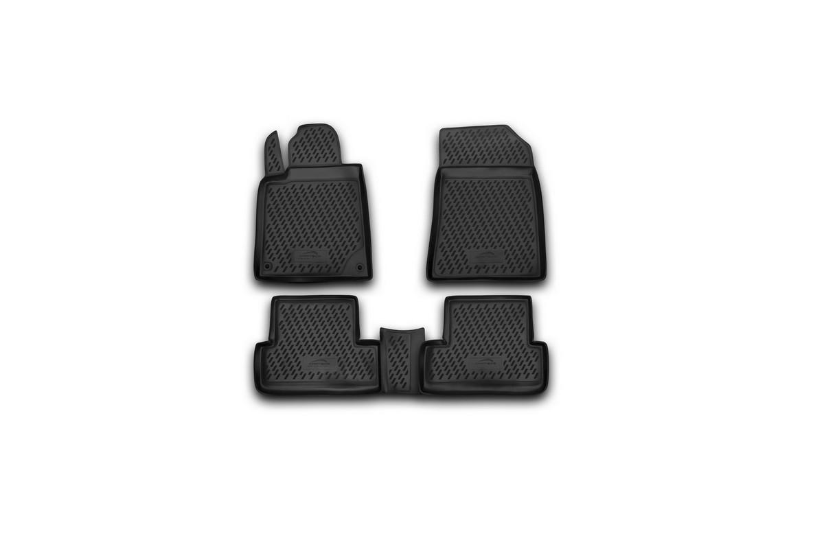 Набор автомобильных ковриков Novline-Autofamily для Peugeot 407 2004-, в салон, 4 штCARPGT00015Набор автомобильных ковриков Novline-Autofamily, изготовленный из полиуретана, состоит из 4 ковриков, которые учитывают все особенности каждой модели автомобиля и полностью повторяют контуры пола. Полиуретановые автомобильные коврики для салона произведены из высококачественного материала, который держит форму, прочный и не пачкает обувь. Коврики в салон не только улучшат внешний вид салона вашего автомобиля, но и надежно уберегут его от пыли, грязи и сырости, а значит, защитят кузов от коррозии. Полиуретановые коврики для автомобиля гладкие, приятные и не пропускают влагу. Ковры для автомобилей надежно крепятся на полу и не скользят, что очень важно во время движения. Чистятся коврики очень просто: как при помощи автомобильного пылесоса, так и различными моющими средствами. Набор подходит для Peugeot 407 2004 года выпуска.