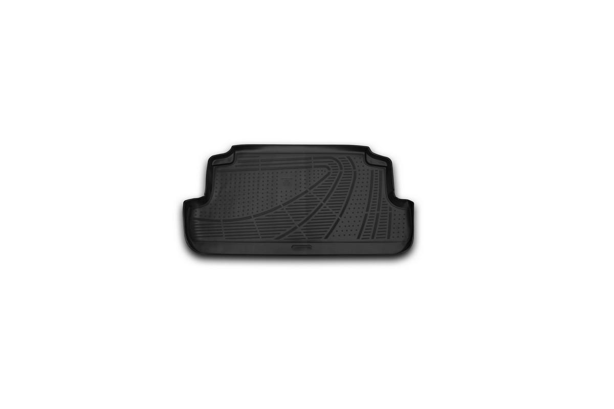 Коврик в багажник LADA 4x4, 2009->, Внед., 3D, 1 шт. (полиуретан)