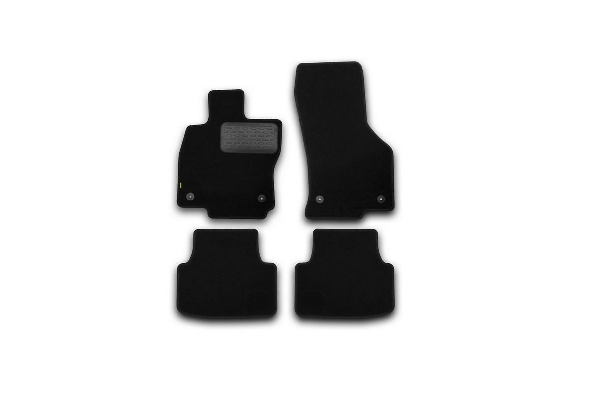 Коврики в салон SKODA Octavia 2013->, сед., 4 шт.(текстиль). KVR02451601210khKVR02451601210khКоврики в салон не только улучшат внешний вид салона вашего автомобиля, но и надежно уберегут его от пыли, грязи и сырости, а значит, защитят кузов от коррозии. Текстильные коврики для автомобиля мягкие и приятные, а их основа из вспененного полиуретана не пропускает влагу.. Автомобильные коврики в салон учитывают все особенности каждой модели авто и полностью повторяют контуры пола. Благодаря этому их не нужно будет подгибать или обрезать. И самое главное — они не будут мешать педалям. Текстильные автомобильные коврики для салона произведены из высококачественного материала, который держит форму и не пачкает обувь. К тому же, этот материал очень прочный (его, к примеру, не получится проткнуть каблуком). Некоторые автоковрики становятся источником неприятного запаха в автомобиле. С текстильными ковриками Novline вы можете этого не бояться. Ковры для автомобилей надежно крепятся на полу и не скользят, что очень важно во время движения, особенно для водителя. Автоковры из текстиля с...
