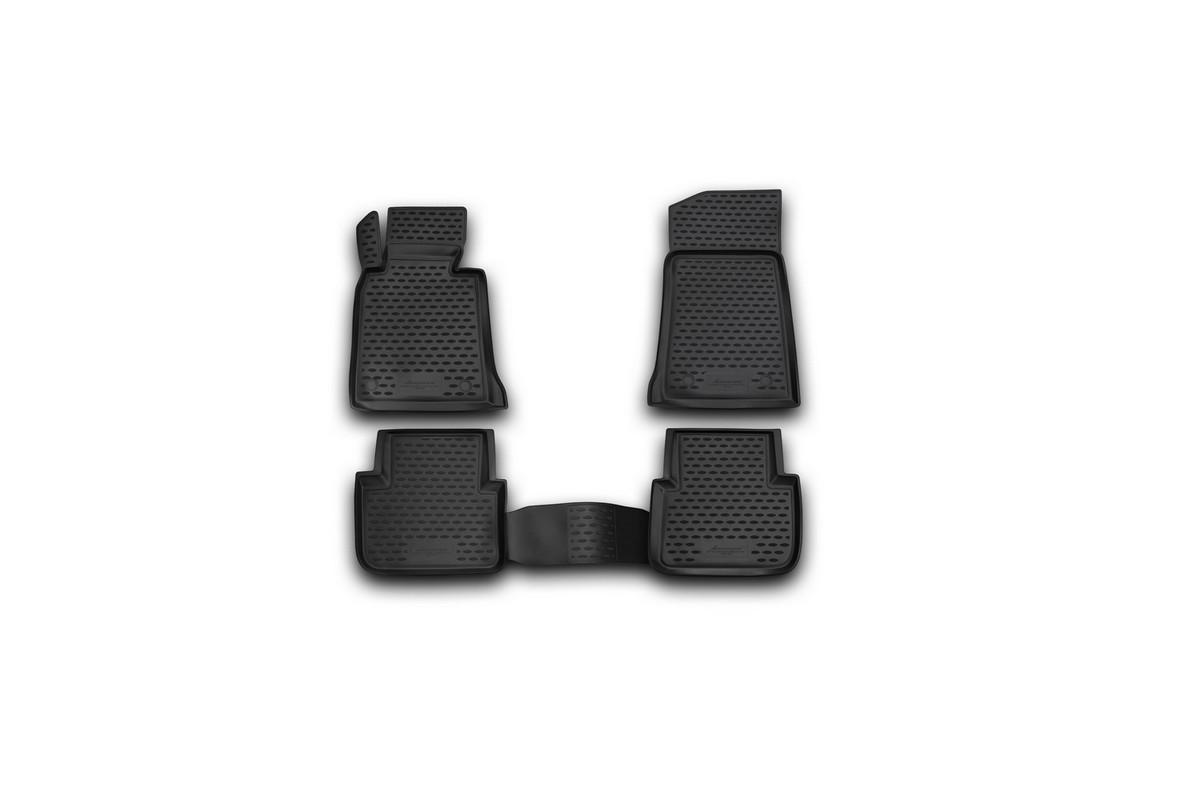 Набор автомобильных ковриков Novline-Autofamily для BMW 3-series E46 1998-2005, в салон, 4 штNLC.05.26.210kНабор автомобильных ковриков Novline-Autofamily, изготовленный из полиуретана, состоит из 4 ковриков, которые учитывают все особенности каждой модели автомобиля и полностью повторяют контуры пола. Полиуретановые автомобильные коврики для салона произведены из высококачественного материала, который держит форму, прочный и не пачкает обувь. Коврики в салон не только улучшат внешний вид салона вашего автомобиля, но и надежно уберегут его от пыли, грязи и сырости, а значит, защитят кузов от коррозии. Полиуретановые коврики для автомобиля гладкие, приятные и не пропускают влагу. Ковры для автомобилей надежно крепятся на полу и не скользят, что очень важно во время движения. Чистятся коврики очень просто: как при помощи автомобильного пылесоса, так и различными моющими средствами. Набор подходит для BMW 3-series E46 1998-2005 годов выпуска.