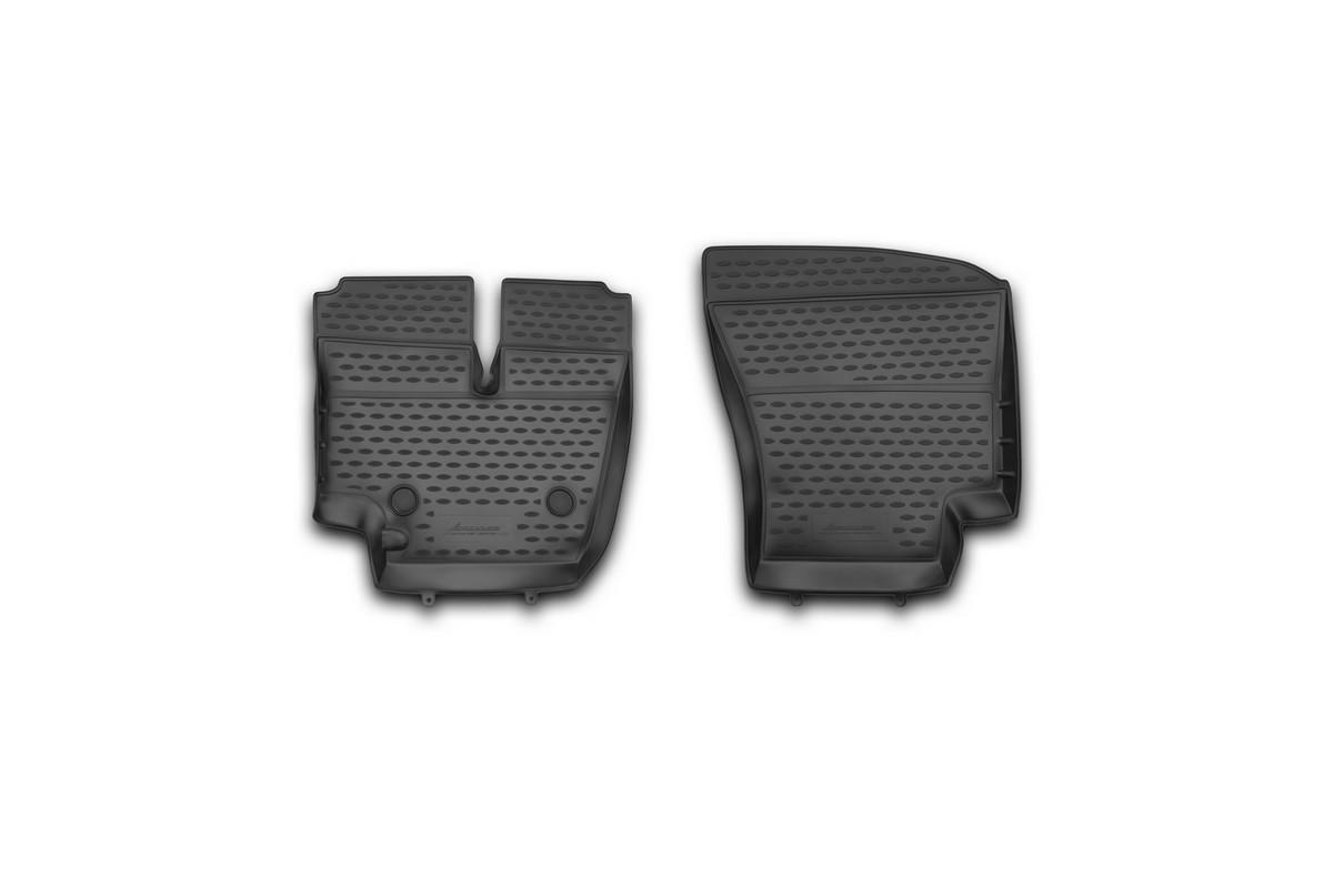 Набор автомобильных ковриков Novline-Autofamily для Ford Cargo 1830 (2530), в салон, 2 штNLC.16.26.210khНабор автомобильных ковриков Novline-Autofamily, изготовленный из полиуретана, состоит из 2 ковриков, которые учитывают все особенности каждой модели автомобиля и полностью повторяют контуры пола. Полиуретановые автомобильные коврики для салона произведены из высококачественного материала, который держит форму, прочный и не пачкает обувь. Коврики в салон не только улучшат внешний вид салона вашего автомобиля, но и надежно уберегут его от пыли, грязи и сырости, а значит, защитят кузов от коррозии. Полиуретановые коврики для автомобиля гладкие, приятные и не пропускают влагу. Ковры для автомобилей надежно крепятся на полу и не скользят, что очень важно во время движения. Чистятся коврики очень просто: как при помощи автомобильного пылесоса, так и различными моющими средствами. Набор подходит для Ford Cargo 1830 (2530).