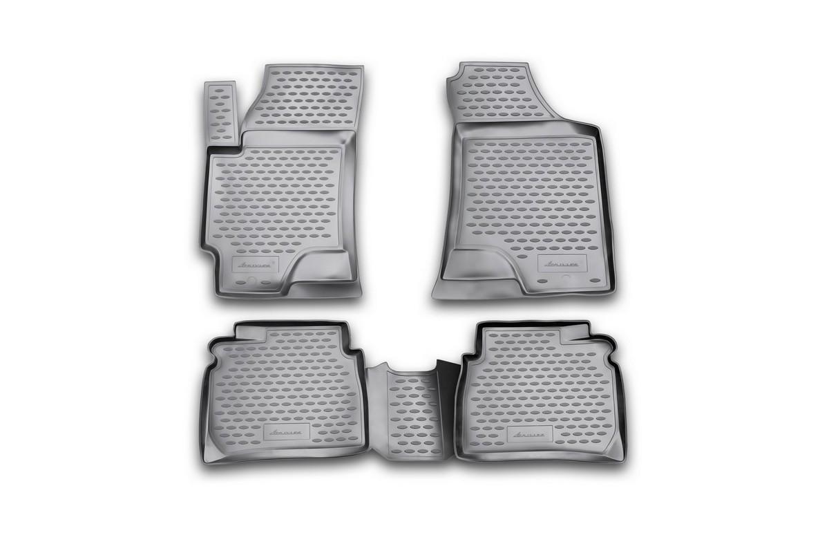 Коврики в салон HYUNDAI Elantra XD, 2001->, 4 шт. (полиуретан)NLC.20.07.210Коврики в салон не только улучшат внешний вид салона вашего автомобиля, но и надежно уберегут его от пыли, грязи и сырости, а значит, защитят кузов от коррозии. Полиуретановые коврики для автомобиля гладкие, приятные и не пропускают влагу. Автомобильные коврики в салон учитывают все особенности каждой модели и полностью повторяют контуры пола. Благодаря этому их не нужно будет подгибать или обрезать. И самое главное — они не будут мешать педалям. Полиуретановые автомобильные коврики для салона произведены из высококачественного материала, который держит форму и не пачкает обувь. К тому же, этот материал очень прочный (его, к примеру, не получится проткнуть каблуком). Некоторые автоковрики становятся источником неприятного запаха в автомобиле. С полиуретановыми ковриками Novline вы можете этого не бояться. Ковры для автомобилей надежно крепятся на полу и не скользят, что очень важно во время движения, особенно для водителя. Автоковры из полиуретана надежно удерживают грязь и влагу, при...