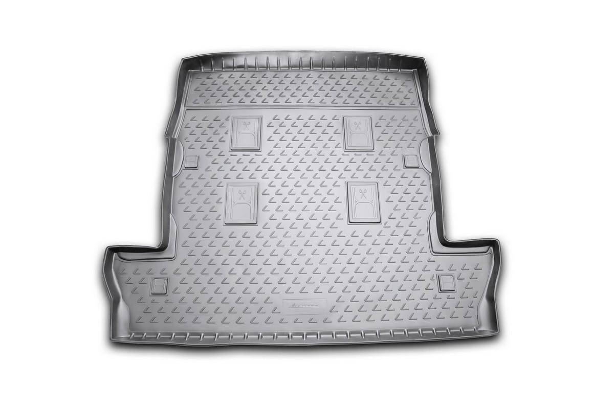 Коврик в багажник LEXUS LX 570, 2007-2012, 2012->, внед. 7 мест длин. (полиуретан)SC-FD421005Автомобильный коврик в багажник позволит вам без особых усилий содержать в чистоте багажный отсек вашего авто и при этом перевозить в нем абсолютно любые грузы. Этот модельный коврик идеально подойдет по размерам багажнику вашего авто. Такой автомобильный коврик гарантированно защитит багажник вашего автомобиля от грязи, мусора и пыли, которые постоянно скапливаются в этом отсеке. А кроме того, поддон не пропускает влагу. Все это надолго убережет важную часть кузова от износа. Коврик в багажнике сильно упростит для вас уборку. Согласитесь, гораздо проще достать и почистить один коврик, нежели весь багажный отсек. Тем более, что поддон достаточно просто вынимается и вставляется обратно. Мыть коврик для багажника из полиуретана можно любыми чистящими средствами или просто водой. При этом много времени у вас уборка не отнимет, ведь полиуретан устойчив к загрязнениям.Если вам приходится перевозить в багажнике тяжелые грузы, за сохранность автоковрика можете не беспокоиться. Он сделан из прочного материала, который не деформируется при механических нагрузках и устойчив даже к экстремальным температурам. А кроме того, коврик для багажника надежно фиксируется и не сдвигается во время поездки — это дополнительная гарантия сохранности вашего багажа.