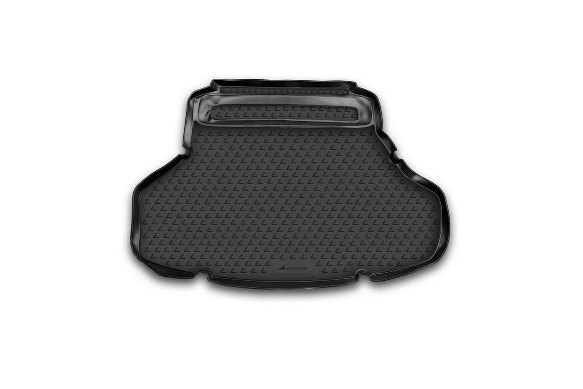 Коврик автомобильный Novline-Autofamily для Lexus ES 250 / 350 седан 2012-, в багажникVT-1520(SR)Автомобильный коврик Novline-Autofamily, изготовленный из полиуретана, позволит вам без особых усилий содержать в чистоте багажный отсек вашего авто и при этом перевозить в нем абсолютно любые грузы. Этот модельный коврик идеально подойдет по размерам багажнику вашего автомобиля. Такой автомобильный коврик гарантированно защитит багажник от грязи, мусора и пыли, которые постоянно скапливаются в этом отсеке. А кроме того, поддон не пропускает влагу. Все это надолго убережет важную часть кузова от износа. Коврик в багажнике сильно упростит для вас уборку. Согласитесь, гораздо проще достать и почистить один коврик, нежели весь багажный отсек. Тем более, что поддон достаточно просто вынимается и вставляется обратно. Мыть коврик для багажника из полиуретана можно любыми чистящими средствами или просто водой. При этом много времени у вас уборка не отнимет, ведь полиуретан устойчив к загрязнениям.Если вам приходится перевозить в багажнике тяжелые грузы, за сохранность коврика можете не беспокоиться. Он сделан из прочного материала, который не деформируется при механических нагрузках и устойчив даже к экстремальным температурам. А кроме того, коврик для багажника надежно фиксируется и не сдвигается во время поездки, что является дополнительной гарантией сохранности вашего багажа.Коврик имеет форму и размеры, соответствующие модели данного автомобиля.