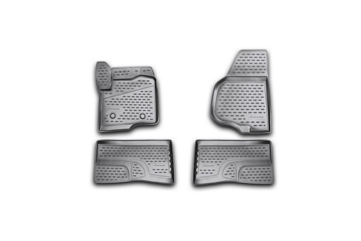 Коврики 3D в салон FORD F-250/350 Super Crew , 2009-2013 4 шт. (полиуретан)NLC.3D.16.39.210kКоврики в салон не только улучшат внешний вид салона вашего автомобиля, но и надежно уберегут его от пыли, грязи и сырости, а значит, защитят кузов от коррозии. Полиуретановые коврики для автомобиля гладкие, приятные и не пропускают влагу. Автомобильные коврики в салон учитывают все особенности каждой модели и полностью повторяют контуры пола. Благодаря этому их не нужно будет подгибать или обрезать. И самое главное — они не будут мешать педалям. Полиуретановые автомобильные коврики для салона произведены из высококачественного материала, который держит форму и не пачкает обувь. К тому же, этот материал очень прочный (его, к примеру, не получится проткнуть каблуком). Некоторые автоковрики становятся источником неприятного запаха в автомобиле. С полиуретановыми ковриками Novline вы можете этого не бояться. Ковры для автомобилей надежно крепятся на полу и не скользят, что очень важно во время движения, особенно для водителя. Автоковры из полиуретана надежно удерживают грязь и влагу, при...