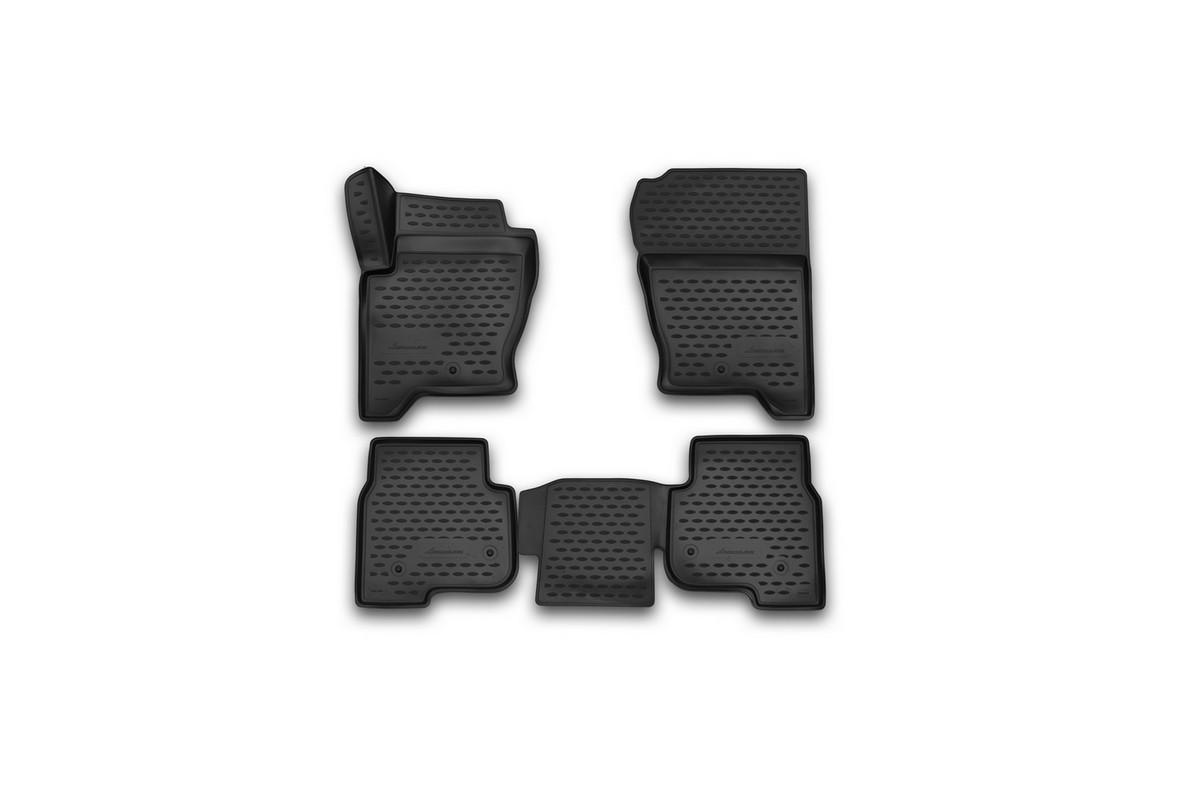 Коврики 3D в салон LAND ROVER Discovery 4, 2014->, 4 шт. (полиуретан)VT-1520(SR)Коврики в салон не только улучшат внешний вид салона вашего автомобиля, но и надежно уберегут его от пыли, грязи и сырости, а значит, защитят кузов от коррозии. Полиуретановые коврики для автомобиля гладкие, приятные и не пропускают влагу. Автомобильные коврики в салон учитывают все особенности каждой модели и полностью повторяют контуры пола. Благодаря этому их не нужно будет подгибать или обрезать. И самое главное — они не будут мешать педалям.Полиуретановые автомобильные коврики для салона произведены из высококачественного материала, который держит форму и не пачкает обувь. К тому же, этот материал очень прочный (его, к примеру, не получится проткнуть каблуком).Некоторые автоковрики становятся источником неприятного запаха в автомобиле. С полиуретановыми ковриками Novline вы можете этого не бояться.Ковры для автомобилей надежно крепятся на полу и не скользят, что очень важно во время движения, особенно для водителя.Автоковры из полиуретана надежно удерживают грязь и влагу, при этом всегда выглядят довольно опрятно. И чистятся они очень просто: как при помощи автомобильного пылесоса, так и различными моющими средствами.