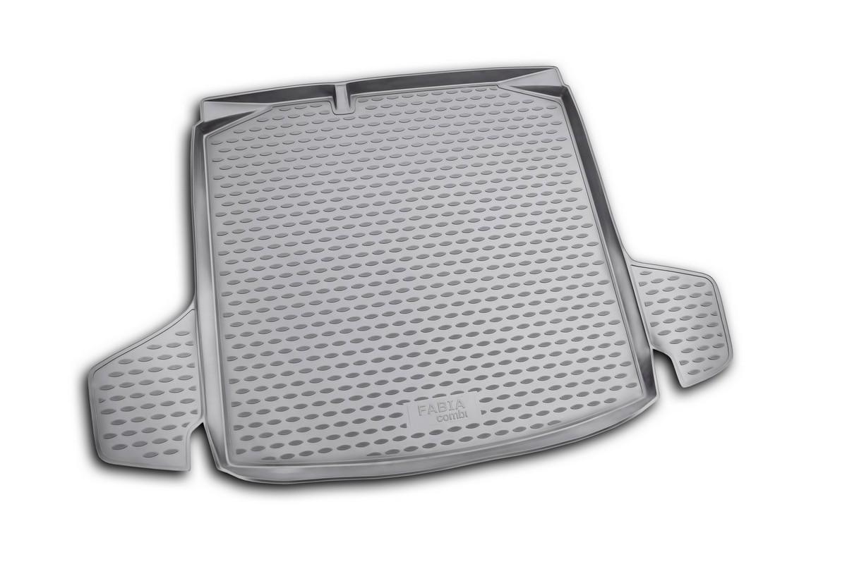 Коврик в багажник SKODA Fabia 2007->, ун. (полиуретан)DFS-524Автомобильный коврик в багажник позволит вам без особых усилий содержать в чистоте багажный отсек вашего авто и при этом перевозить в нем абсолютно любые грузы. Этот модельный коврик идеально подойдет по размерам багажнику вашего авто. Такой автомобильный коврик гарантированно защитит багажник вашего автомобиля от грязи, мусора и пыли, которые постоянно скапливаются в этом отсеке. А кроме того, поддон не пропускает влагу. Все это надолго убережет важную часть кузова от износа. Коврик в багажнике сильно упростит для вас уборку. Согласитесь, гораздо проще достать и почистить один коврик, нежели весь багажный отсек. Тем более, что поддон достаточно просто вынимается и вставляется обратно. Мыть коврик для багажника из полиуретана можно любыми чистящими средствами или просто водой. При этом много времени у вас уборка не отнимет, ведь полиуретан устойчив к загрязнениям.Если вам приходится перевозить в багажнике тяжелые грузы, за сохранность автоковрика можете не беспокоиться. Он сделан из прочного материала, который не деформируется при механических нагрузках и устойчив даже к экстремальным температурам. А кроме того, коврик для багажника надежно фиксируется и не сдвигается во время поездки — это дополнительная гарантия сохранности вашего багажа.