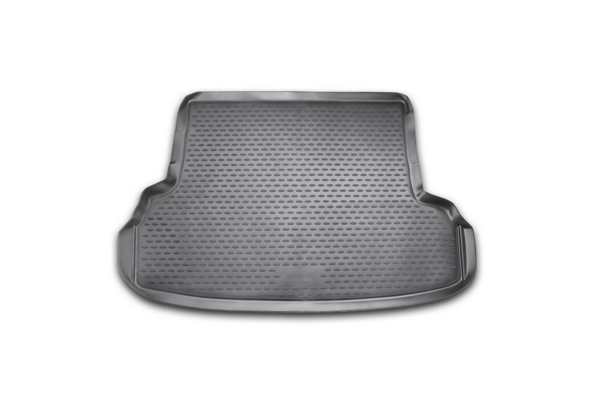 Коврик автомобильный Novline-Autofamily для Subaru Impreza седан 2007-, в багажникNLC.46.07.B11Автомобильный коврик Novline-Autofamily, изготовленный из полиуретана, позволит вам без особых усилий содержать в чистоте багажный отсек вашего авто и при этом перевозить в нем абсолютно любые грузы. Этот модельный коврик идеально подойдет по размерам багажнику вашего автомобиля. Такой автомобильный коврик гарантированно защитит багажник от грязи, мусора и пыли, которые постоянно скапливаются в этом отсеке. А кроме того, поддон не пропускает влагу. Все это надолго убережет важную часть кузова от износа. Коврик в багажнике сильно упростит для вас уборку. Согласитесь, гораздо проще достать и почистить один коврик, нежели весь багажный отсек. Тем более, что поддон достаточно просто вынимается и вставляется обратно. Мыть коврик для багажника из полиуретана можно любыми чистящими средствами или просто водой. При этом много времени у вас уборка не отнимет, ведь полиуретан устойчив к загрязнениям. Если вам приходится перевозить в багажнике тяжелые грузы,...