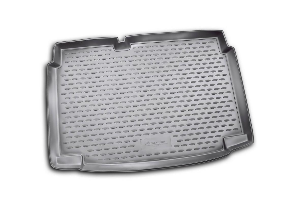 """Коврик автомобильный """"Novline-Autofamily"""" для Volkswagen Polo V хэтчбек 2009-2012, в багажник NLC.51.28.BN11"""